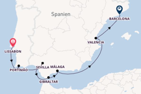 9 Tage unterwegs mit der Azamara Journey