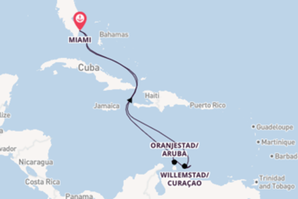 Magnificent journey from Miami with Carnival Cruise Lines