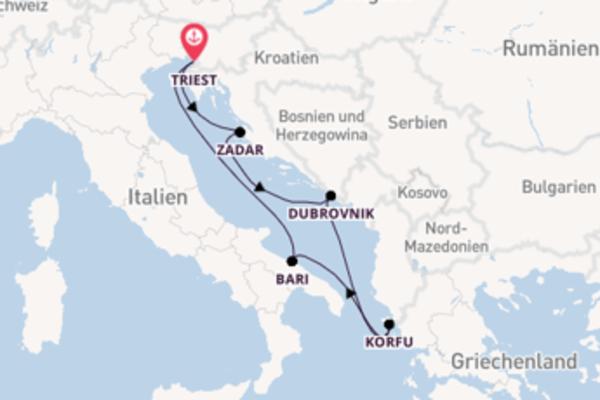 Eindrucksvolle Reise nach Venedig