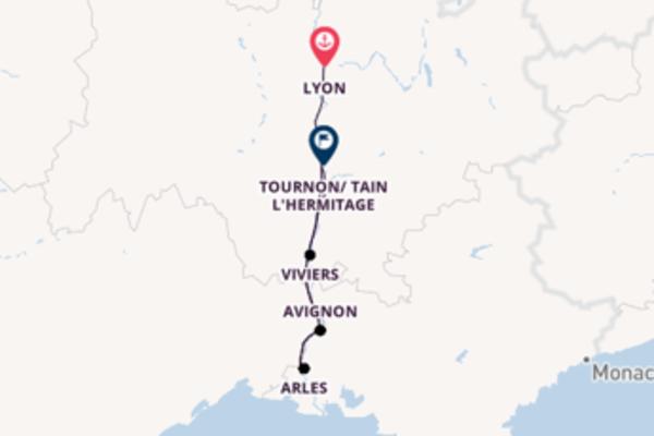 Cruise from Lyon to Tournon/ Tain L'Hermitage via Arles