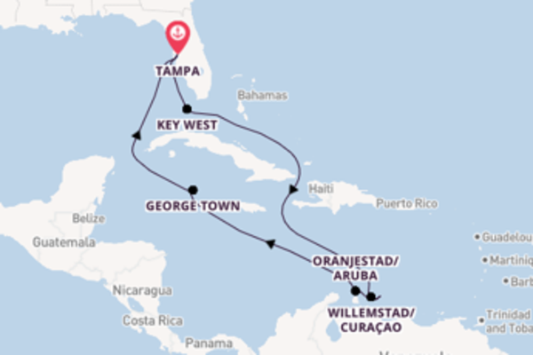Trip from Tampa with the Celebrity Constellation