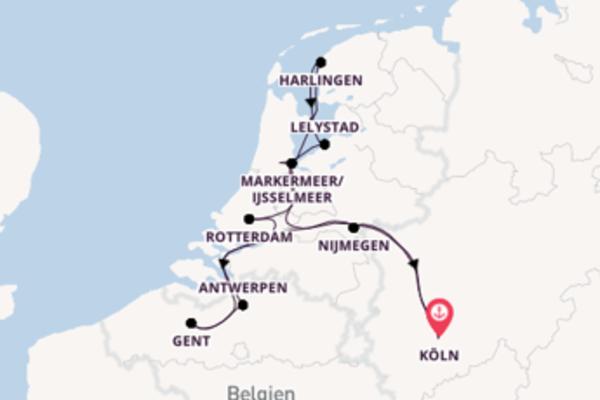 Köln und Lelystad erleben