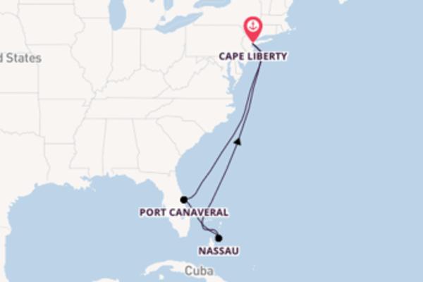 8-daagse cruise vanaf Cape Liberty