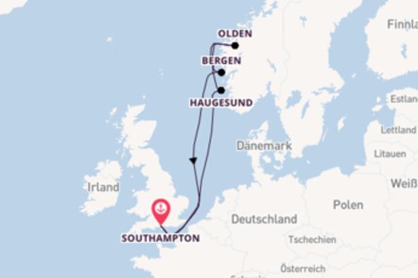 Southampton und Haugesund erleben