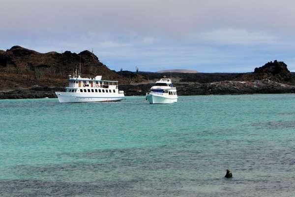 Sullivan Bay (Santiago), Galapagos Eilanden