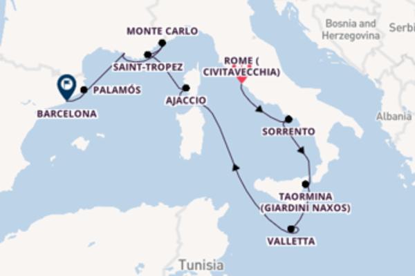 Expedition with Regent Seven Seas Cruises from Rome (Civitavecchia)