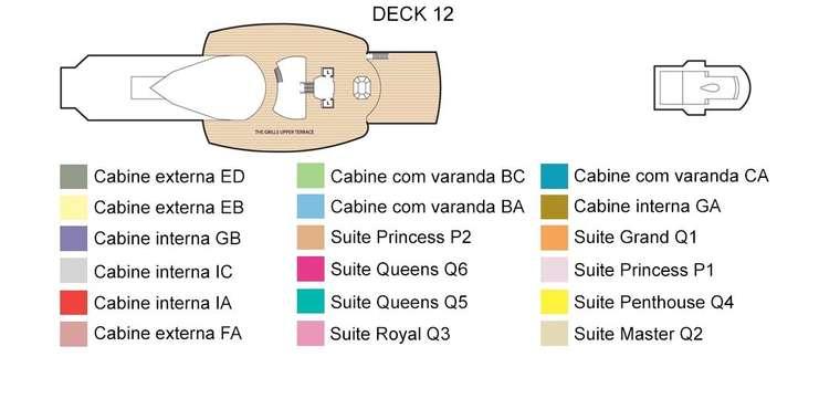 Queen Victoria Deck 12
