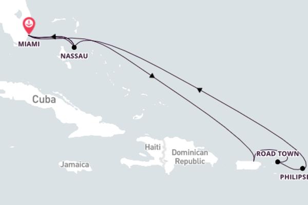 Magnificent Nassau with MSC Cruises