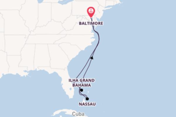 Épico cruzeiro de 9 dias com a Royal Caribbean