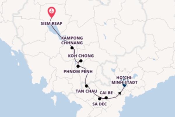 Kambodscha und Vietnam erleben