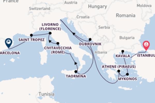 16-daagse cruise naar Kavala
