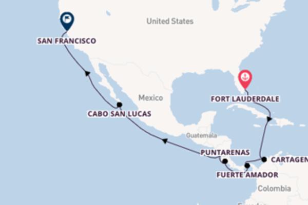 16-daagse reis naar San Francisco