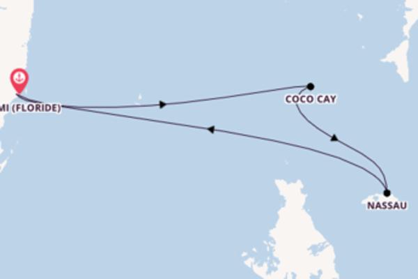 Mémorable croisière avec Royal Caribbean pendant 5 jours
