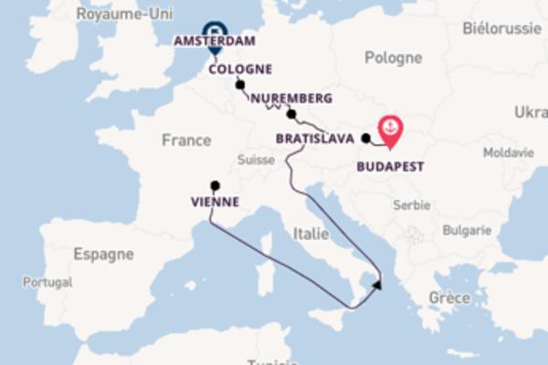 17 jours pour découvrir Ratisbonne au départ de Budapest