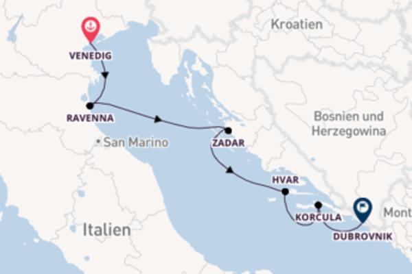 Einzigartige Reise nach Dubrovnik