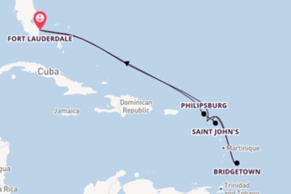 Affascinante crociera verso Fort Lauderdale