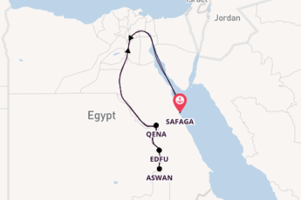Sail with Viking River Cruises from Cairo