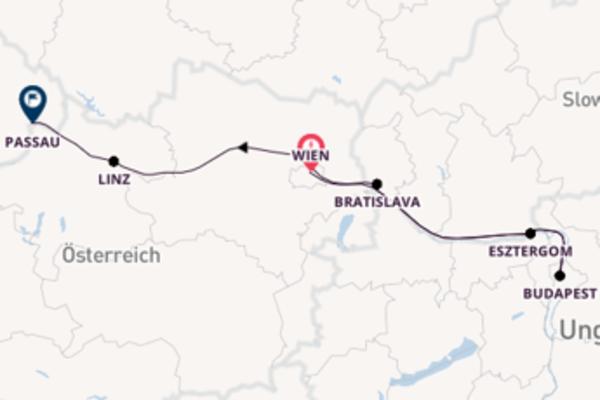 Wien und Budapest genießen
