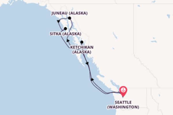 Ressentez à bord du bateau Regatta, la destination: Victoria