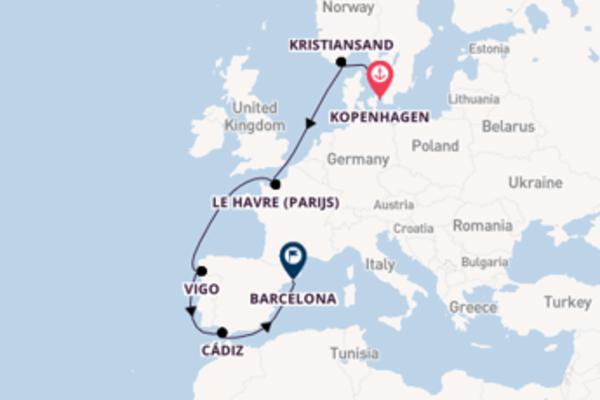 Cruise in 10 dagen naar Barcelona met Costa Cruises