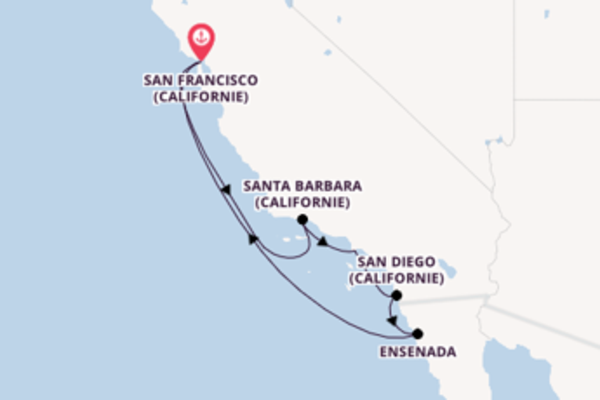 Explorez avec Princess Cruises, la destination: San Diego (Californie)