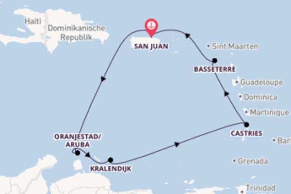 In 8 Tagen nach San Juan
