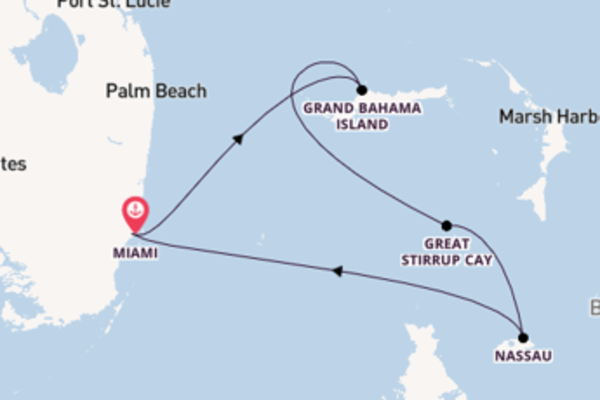5 day cruise with the Norwegian Sky to Miami