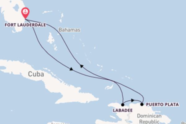 Lasciati affascinare da Labadee partendo da Fort Lauderdale