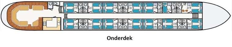Mare Fan Fryslân Onderdek 2