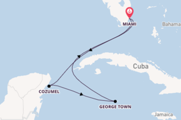 Journey from Miami with the Celebrity Summit
