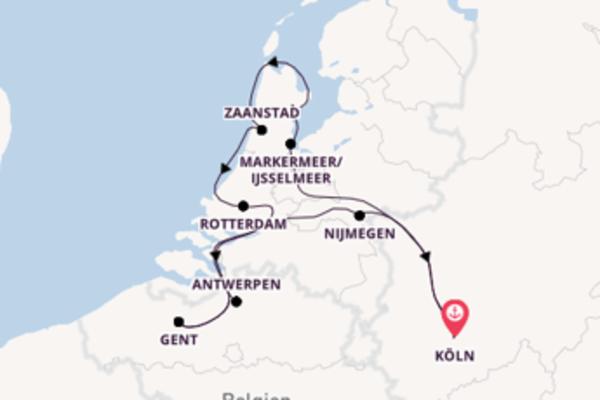 8 Tage Westeuropa Reise