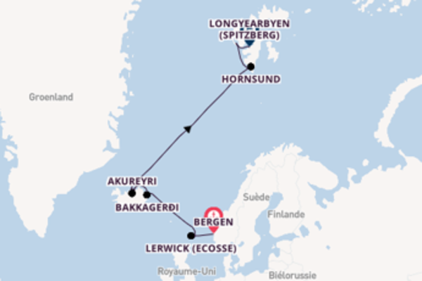 Fantastique balade avec Hurtigruten