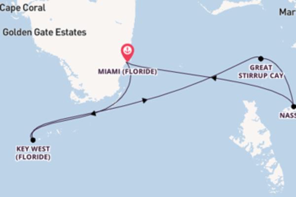 Somptueuse croisière de 5 jours avec Norwegian Cruise Line