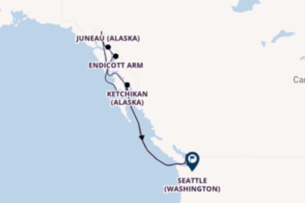 Belle balade de 8 jours au départ de Vancouver