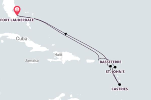 Impressionante viagem com a Royal Caribbean