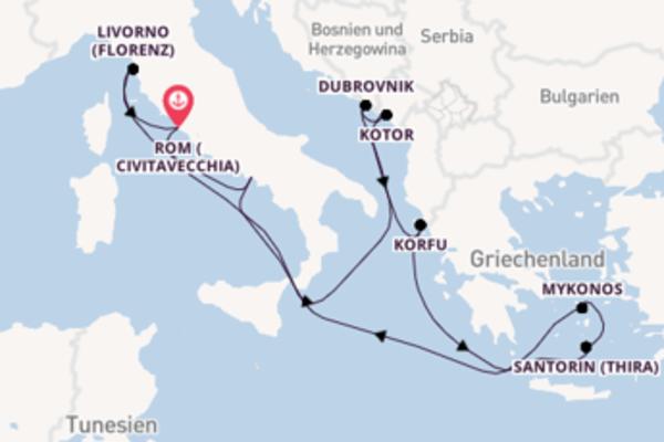11 Tage auf der Norwegian Getaway verbringen