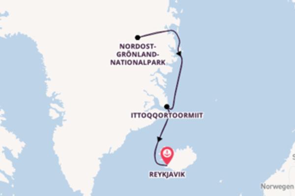 13 Tage Grönland Kreuzfahrt