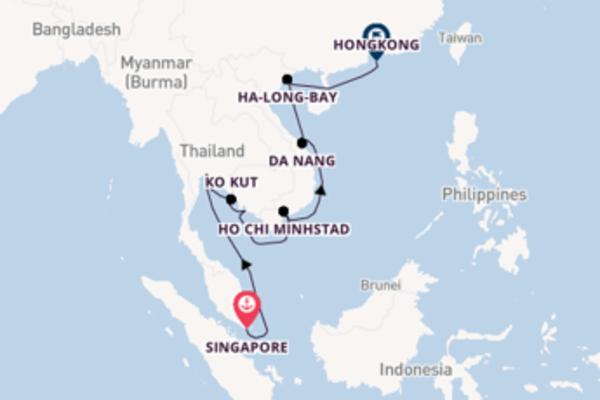 Bewonder Singapore, Ho Chi Minhstad en Hongkong