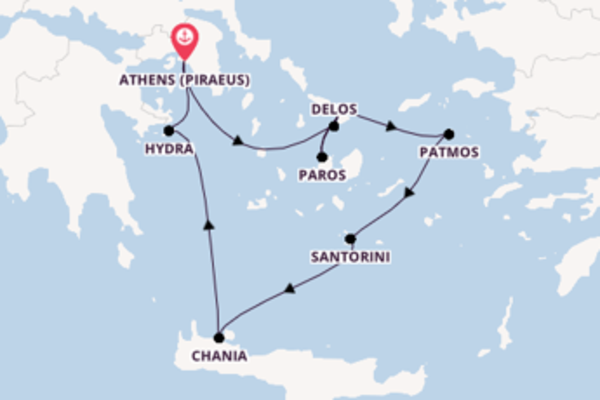 Sailing from Athens with the Crystal Esprit