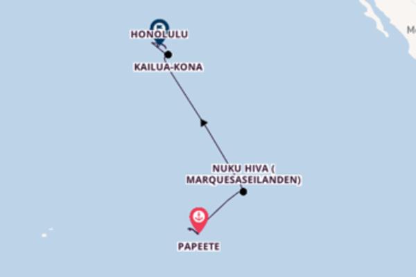Maak een droomcruise naar Kailua-Kona