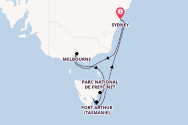 Splendide virée de 8 jours depuis Sydney