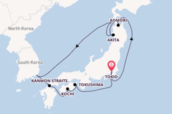 Ontdek Akita met Princess Cruises
