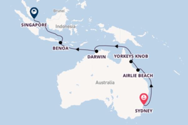 Sydney to Singapore