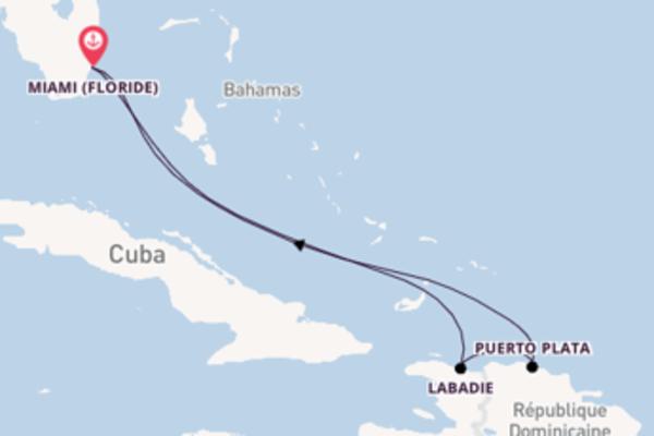Dépaysante croisière de 6 jours avec Celebrity Cruises