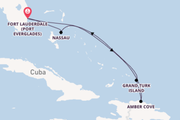 Glorious journey from Fort Lauderdale with Carnival Cruise Lines