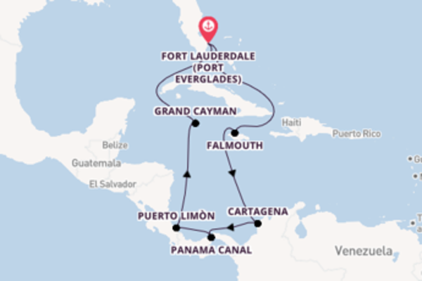 Cruising from Fort Lauderdale (Port Everglades) via Cartagena