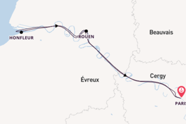 Picturesque trip from Paris with CroisiEurope