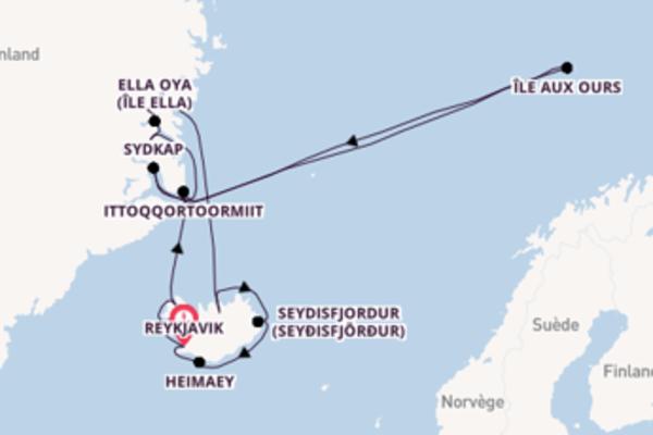 Superbe virée de 15 jours depuis Reykjavik