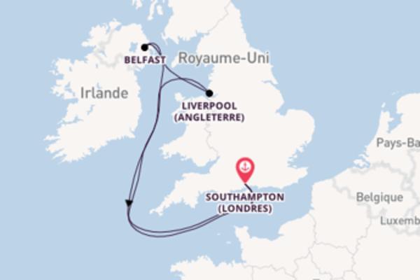 Admirez avec Royal Caribbean, la destination: Liverpool (Angleterre)