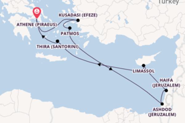 Cruise met Norwegian Cruise Line naar Kusadasi (Efeze)